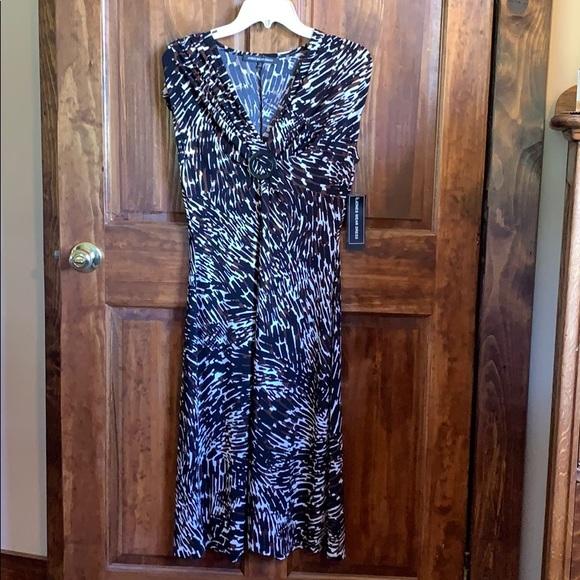 Jones Wear Dresses & Skirts - Jones Wear Dress Black Multi Day to Dinner Dress 8